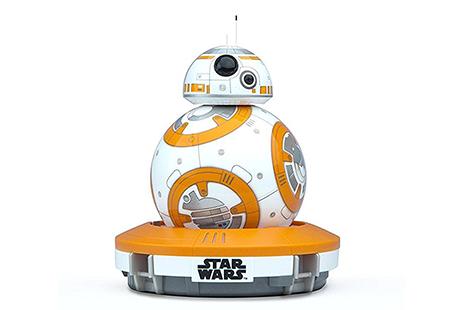 El robot electrónico BB-8