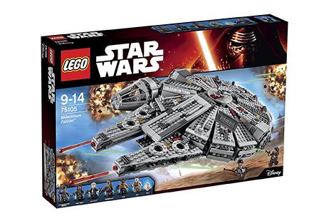 El Halcón milenario de Lego