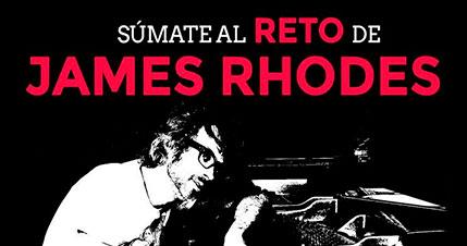 Súmate al reto de James Rhodes